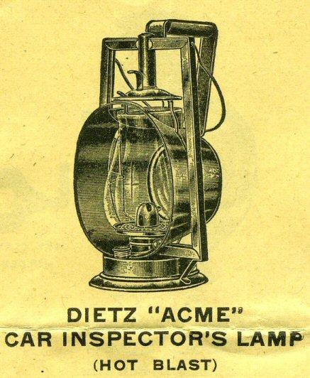 Dietz monarch railroad lantern dating 1