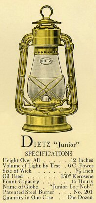 Kerosene Lantern Frequently Asked Questions Page