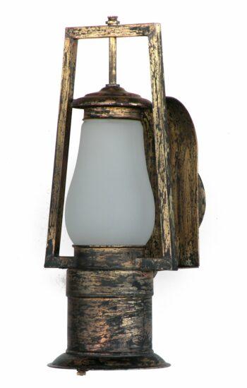 #0 Wall Reflector Down Light Aged Brass