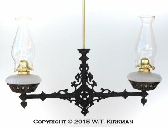 """""""1870"""" Dual Hanging Lamp Fixture"""