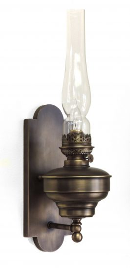 #625 NorthWest Wall Fixture, Brass Patina