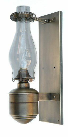 #2525 Caboose Lamp, Brass Patina