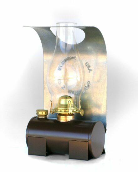 """#2528 Bunk Car Lamp - 13"""" Height"""
