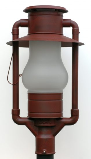 "#300 Frontier Rust Enamel - 26"" Height"