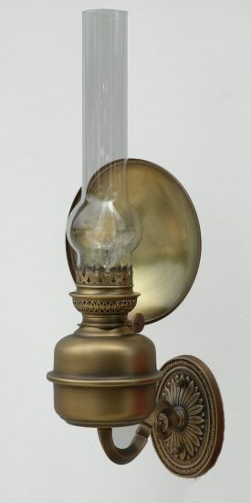 "Amie Wall Fixture, Brass Patina - 18"" Height"