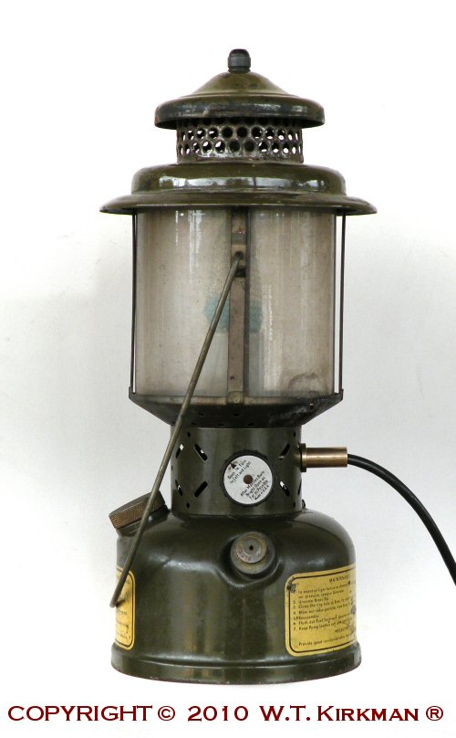 For the Armed Forces Military Museum in Largo, Florida, we converted some original Coleman #252 lanterns for a Korean War diorama for authenticity.