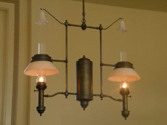 Drake Patent Library Lamp