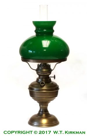 W.T.Kirkman Specialty Oil Lamps