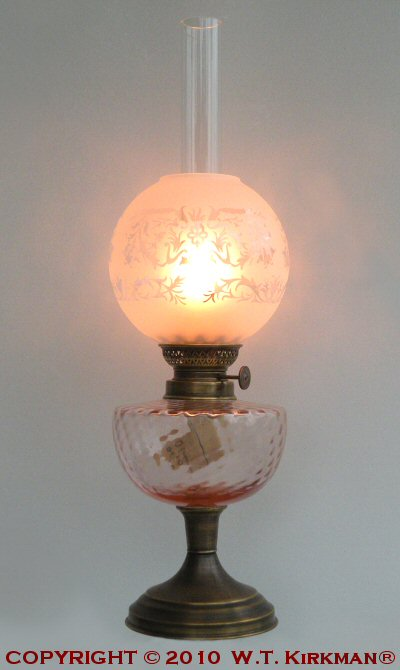 Kosmos Glass Oil Lamps